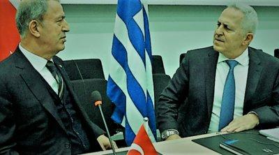Οκτώ σημεία σύγκρουσης στη συνάντηση Αποστολάκη-Ακάρ