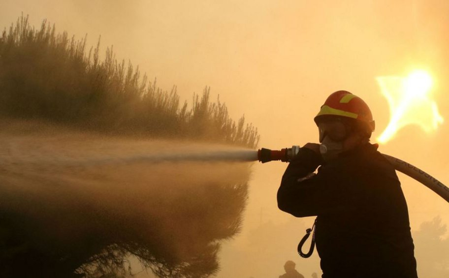 Κρήτη: Φωτιά στη Βιάννο