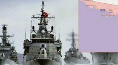 Νέα πρόκληση της Τουρκίας: Εξέδωσε NAVTEX για ασκήσεις νότια του Καστελλόριζου