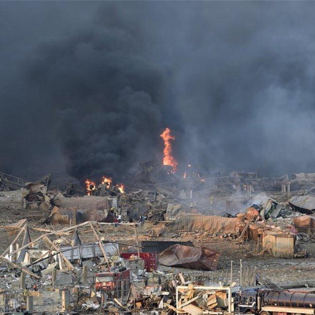Παγκόσμιο σοκ από την έκρηξη στη Βηρυτό - Συγκλονιστικές εικόνες ανθρώπινου πόνου - Αγωνία για τους εκλωβισμένους