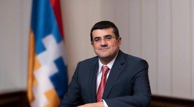 Ο πρόεδρος του Ναγκόρνο-Καραμπάχ Χαρουτγιουνιάν, παραδέχεται ότι «χάθηκαν» κάποια εδάφη, υπάρχουν νεκροί και τραυματίες