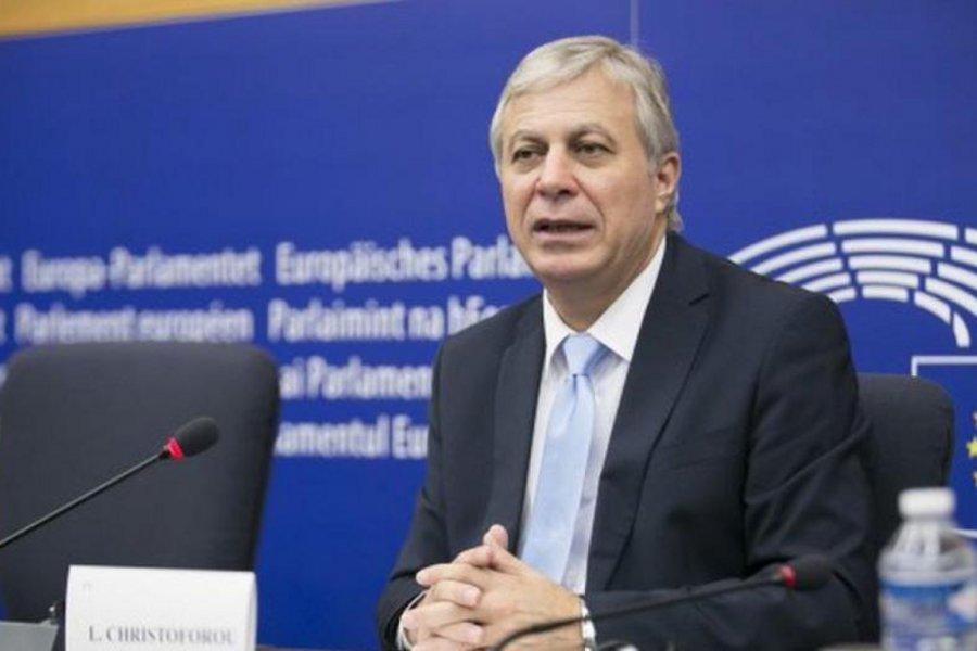 Χριστοφόρου: Το ψήφισμα του ΕΚ αποτελεί ισχυρό όπλο για την Ελλάδα και την Κύπρο στο προσεχές Ευρωπαϊκό Συμβούλιο